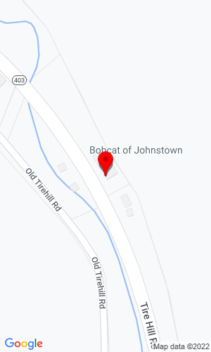Google Map of Bobcat of Johnstown 826 Tire Hill Road, Johnstown, PA, 15905